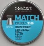 JSB Match Diabolo S100 0,535 g, opakowanie 500 sztuk